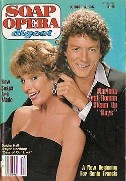 October 12, 1982 issue of Soap Opera Digest