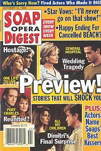 Soap Opera Digest - October 12, 1999