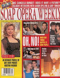 Soap Opera Weekly October 12, 1999