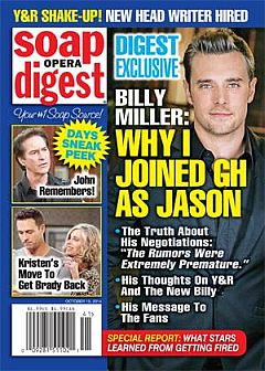 Soap Opera Digest Oct. 13, 2014