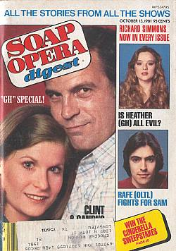 October 13, 1981 issue of Soap Opera Digest