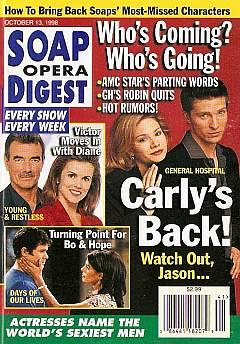 Soap Opera Digest - October 13, 1998