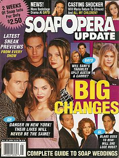 October 13, 1998 issue of Soap Opera Update magazine