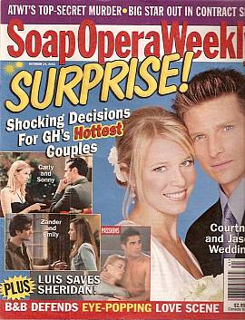 Soap Opera Weekly October 14, 2003