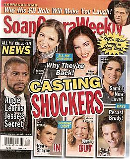 Soap Opera Weekly Oct. 14, 2008