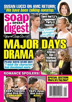 Soap Opera Digest Oct. 14, 2013