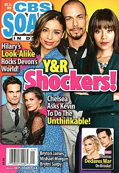 CBS Soaps In Depth October 14, 2019
