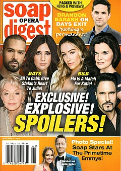 Soap Opera Digest October 14, 2019