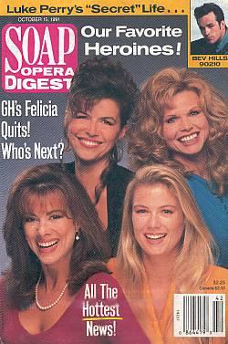 Soap Opera Digest October 15, 1991