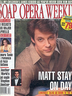 Soap Opera Weekly October 15, 1991