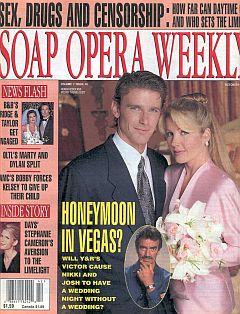Soap Opera Weekly October 15, 1996