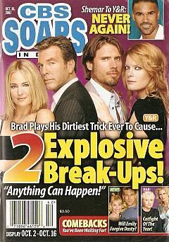 CBS Soaps In Depth October 16, 2007