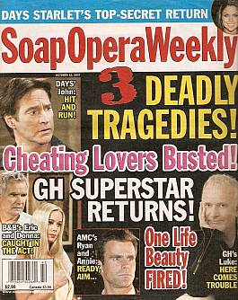 Soap Opera Weekly October 16, 2007