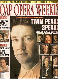 October 16, 1990 issue of Soap Opera Weekly magazine