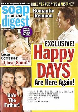 Soap Opera Digest Oct. 17, 2006