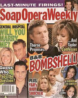 Soap Opera Weekly October 17, 2006