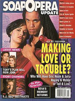 Soap Opera Update October 17, 1995