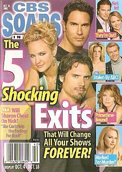 CBS Soaps In Depth October 18, 2005