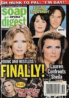 Soap Opera Digest Oct. 18, 2005