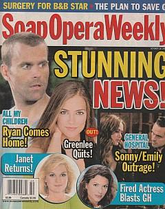 Soap Opera Weekly October 18, 2005
