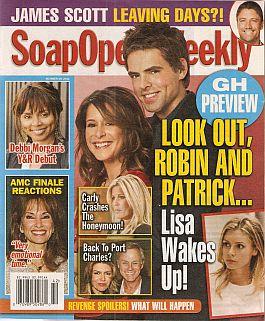 Soap Opera Weekly - October 18, 2011
