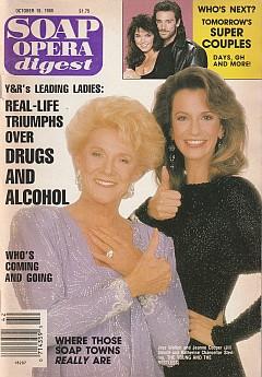 Soap Opera Digest October 18, 1988