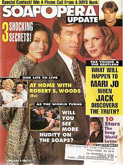 October 18, 1994 issue of Soap Opera Update magazine