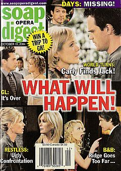 Soap Opera Digest Oct. 19, 2004