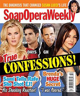 October 19, 2010 issue of Soap Opera Weekly magazine
