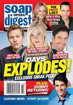 Soap Opera Digest Oct. 19, 2015