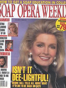 Soap Opera Weekly October 1, 1991