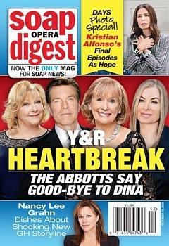 Soap Opera Digest October 19, 2020