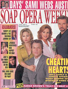 Soap Opera Weekly October 1, 1996
