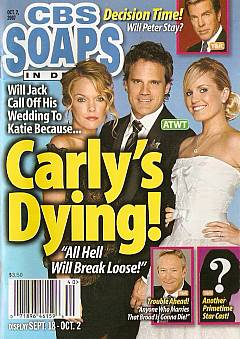 CBS Soaps In Depth October 2, 2007