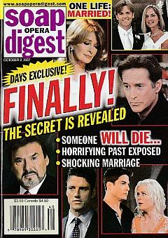 Soap Opera Digest Oct. 2, 2007