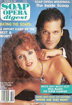 Soap Opera Digest October 20, 1987