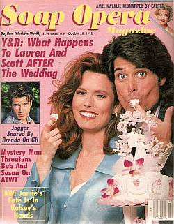 October 20, 1992 issue of Soap Opera Magazine
