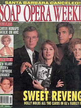 Soap Opera Weekly October 20, 1992