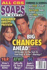 CBS Soaps In Depth - October 20, 1998