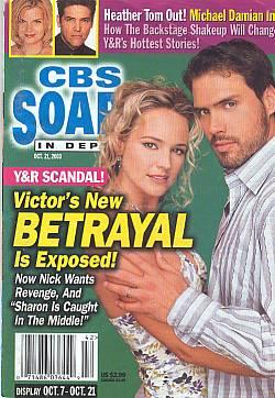 CBS Soaps In Depth October 21, 2003