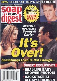 Soap Opera Digest Oct. 21, 2003