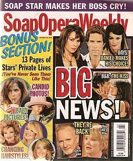 Soap Opera Weekly Oct. 21, 2008