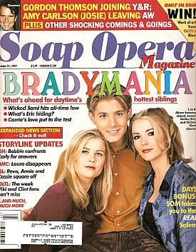 Soap Opera Magazine October 21, 1997
