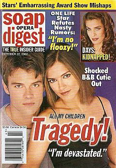 Soap Opera Digest Oct. 22, 2002