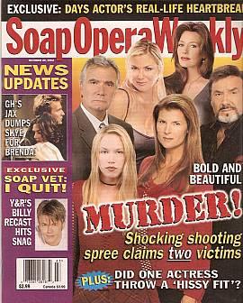 Soap Opera Weekly October 22, 2002