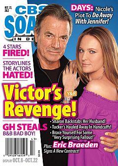 October 22, 2012 issue of CBS Soaps In Depth magazine