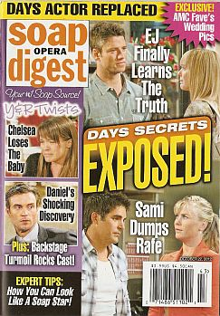 October 22, 2012 issue of Soap Opera Digest magazine