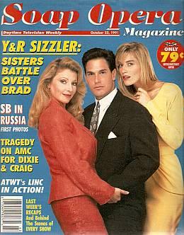 Soap Opera Magazine Oct. 22, 1991