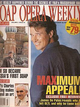 Soap Opera Weekly October 22, 1991