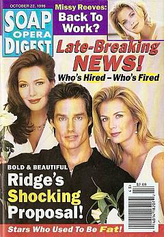 Soap Opera Digest - October 22, 1996